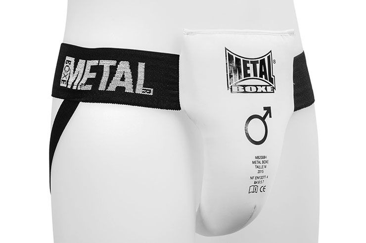 Coquille homme, Semi-pro - MB2008H, Metal Boxe