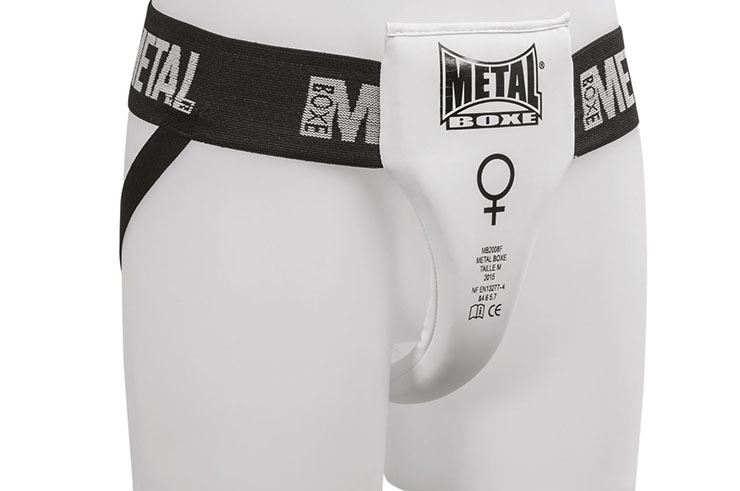 Woman Groin Guard, Semi-Pro - MB2008F, Metal Boxe