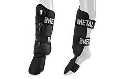 Protector Espinillas y Pies desmontable, Metal Boxe MB210