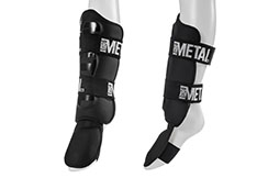 Step & Shinguards, Removable - MB210, Metal Boxe