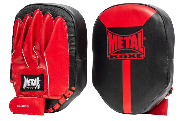 Flat focus mitts, Pair - MB176 Metal Boxe