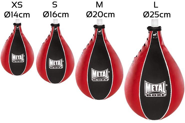 POIRE DE VITESSE Métal Boxe