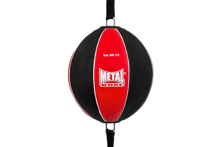 Balón doble elástico boxeo - MB170M, Metal Boxe