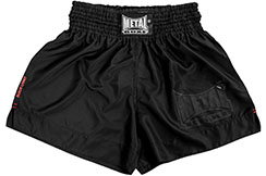 Short Boxeo Thai Black Light''TC67'', Metal Boxe