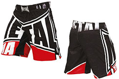 MMA Shorts, Metal Boxe