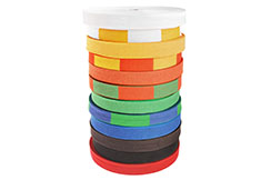Roll of Belts - Judo , Metal Boxe