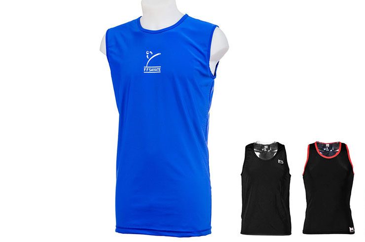 Tank Top for French Boxing, Savate - MB123, Metal Boxe