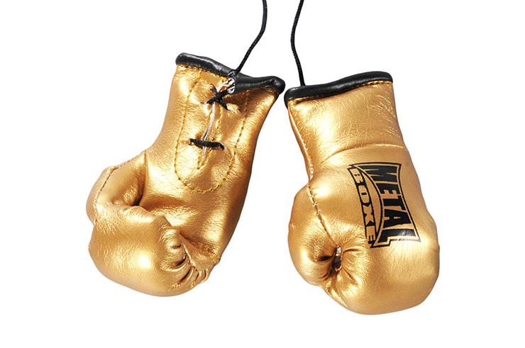 Mini guantes dobles, Para el espejo - MB187G1, Metal Boxe