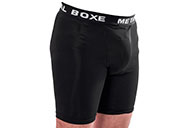 Short Lycra Pour Coquille, Metal Boxe MB404