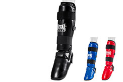 Detachable Foot + Shin Pads , Metal Boxe PR100