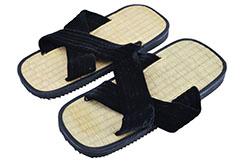 Zoori Straw Sandals, Kwon