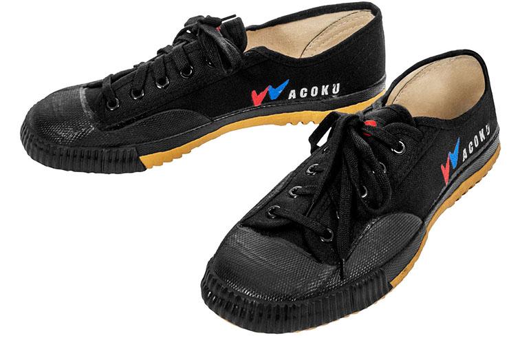 [Fin de série] Chaussures Wushu, Noir - CHF541, Dojo Master