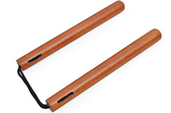 Nunchaku - Wood & Rope ''ARC109'', Dojo Master