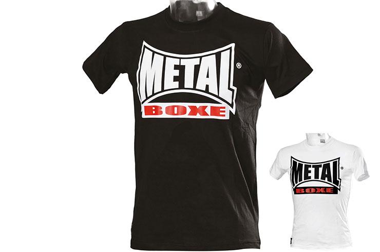 T-Shirt, Visual Tricolore - MB91, Metal Boxe