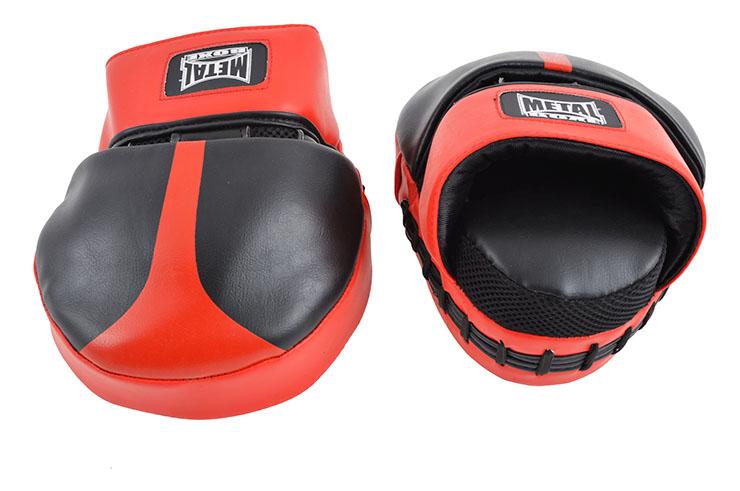Hook & Jab pads, Curved - FR2854, Metal Boxe