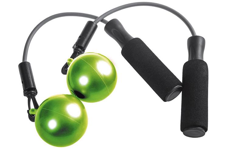 Corde à sauter fitness, Ball Jump - ACA412, Metal Boxe