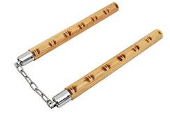 Nunchaku - Rattan & Chain ''ARX124'', Dojo Master