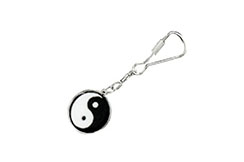 """Yin Yang"" Key Ring, Metal Boxe"