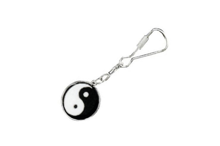 Keychain, Yin Yang - DMH512, Metal Boxe