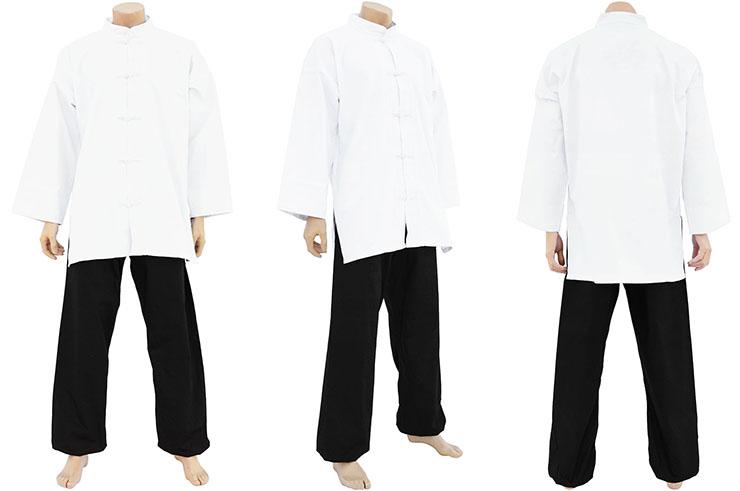 Tenue Kung-fu, Tai Chi coupe Combat, Coton épais