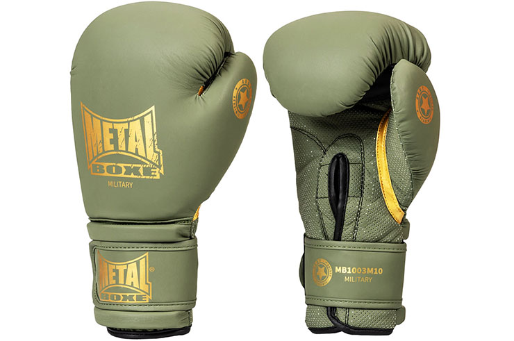 Military gloves - Training & competitions - MB1003, Metal Boxing