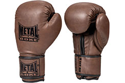 Boxing Gloves, Vintage - MB235, Metal Boxe