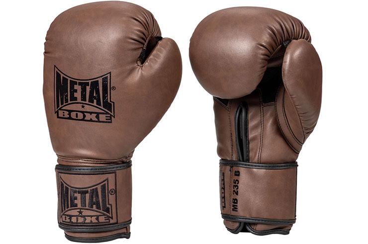 Gants de Boxe, Vintage - MB235, Metal Boxe