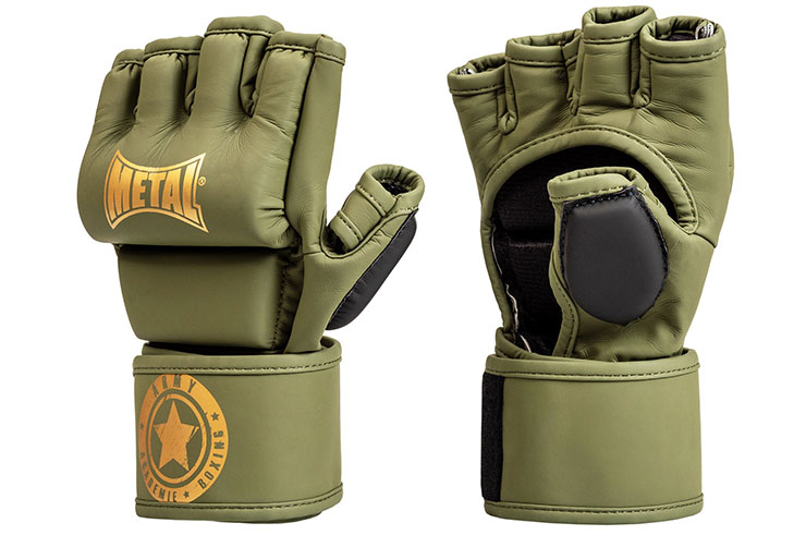 MMA gloves, competition & training - MB534M, Metal Boxe