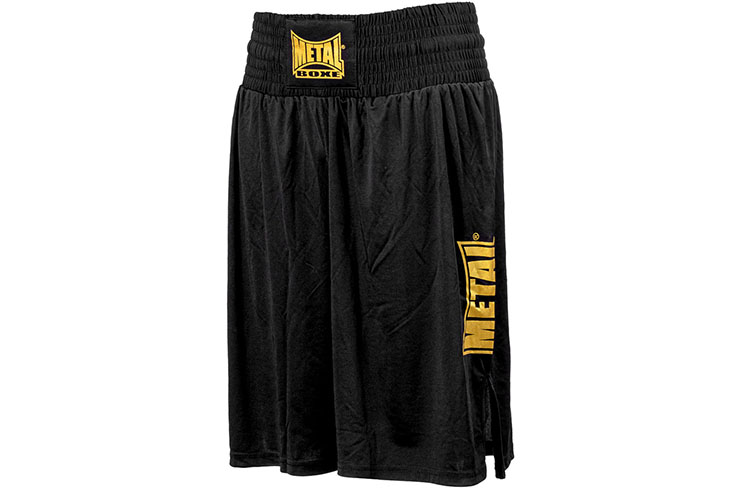 Pantalones cortos de boxeo inglés, Fluido - TC74N, Metal Boxe