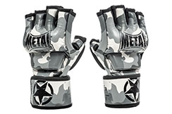 Free Fight gloves, With thumb, Camo - MB594, Metal Boxe