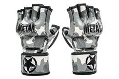 Guantes MMA con pulgares, Camo - MB594, Metal Boxe