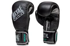 Guantes de boxeo cuero, HERACLES - MB232, Metal Boxe