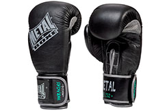 Guantes de Boxeo, Cuero, HERACLES - MB232, Metal Boxeo