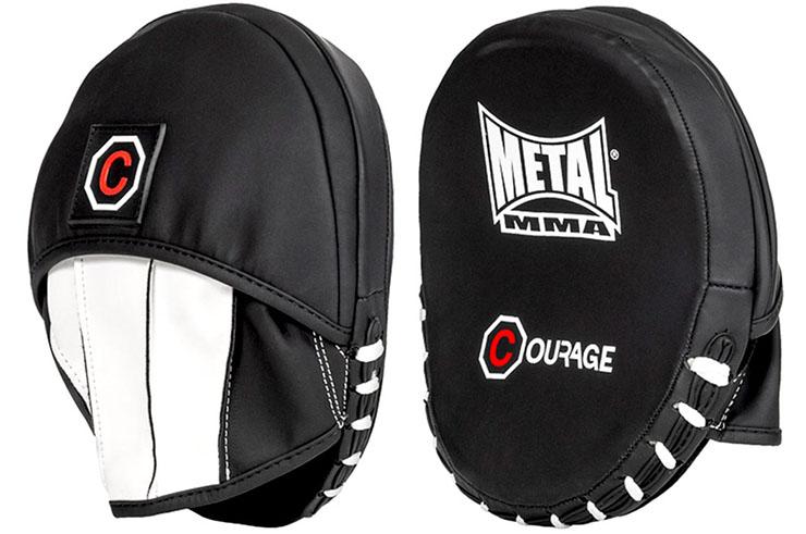 Manoplas de boxeo, Courage - GRFRA150N, Metal Boxe