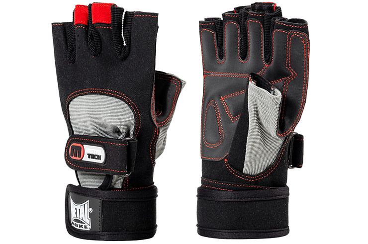 Bodybuilding gloves, With thumb - MB2022N, Metal Boxe