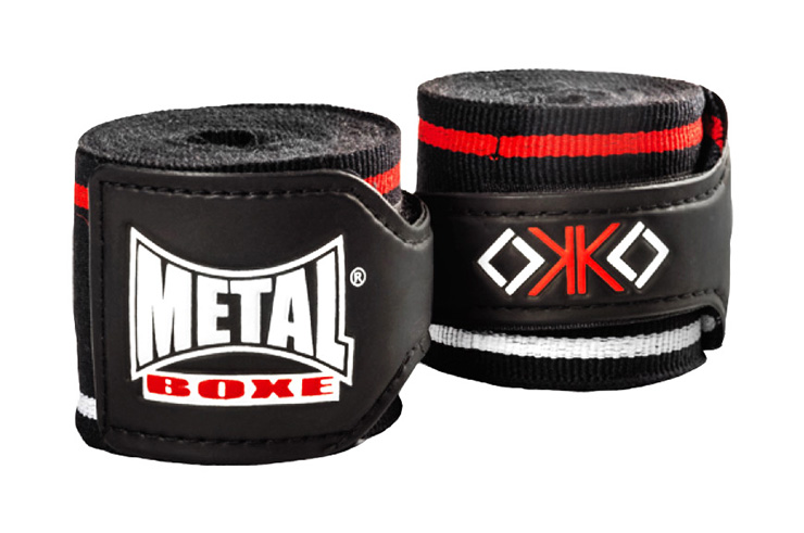 Bandes de boxe élastiques 3,5m, OKO - GRPRO200N35, Metal Boxe