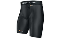 Short core compression pour coquille, Shock doctor