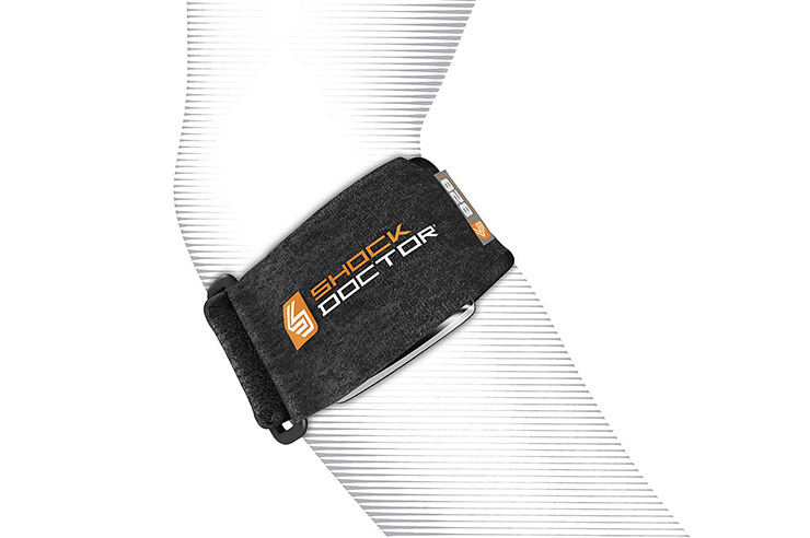 Bracelet tennis elbow, Shock doctor