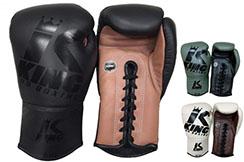 Guantes de boxeo, Cordones - BG, King