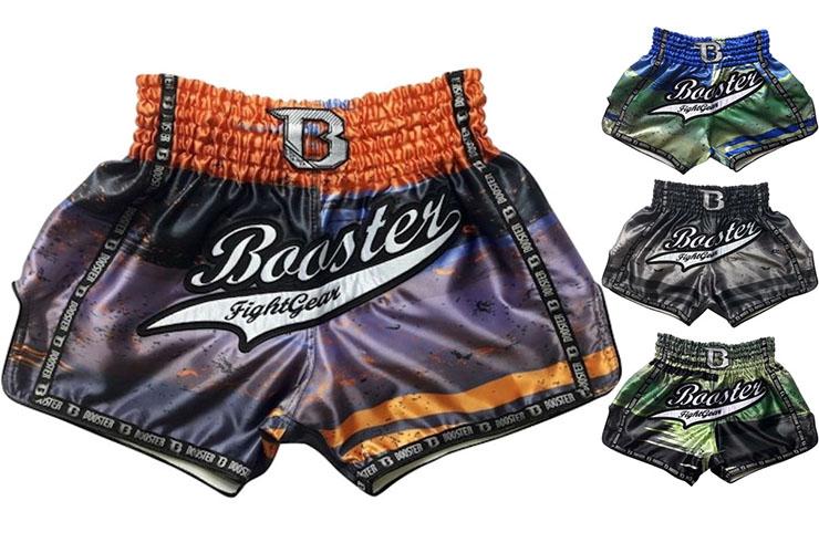 Pantalones Cortos, Muay Thai - TBT CHAOS 3, Booster