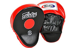 Curved Professionnal Pads (Pair) FMV9, Fairtex