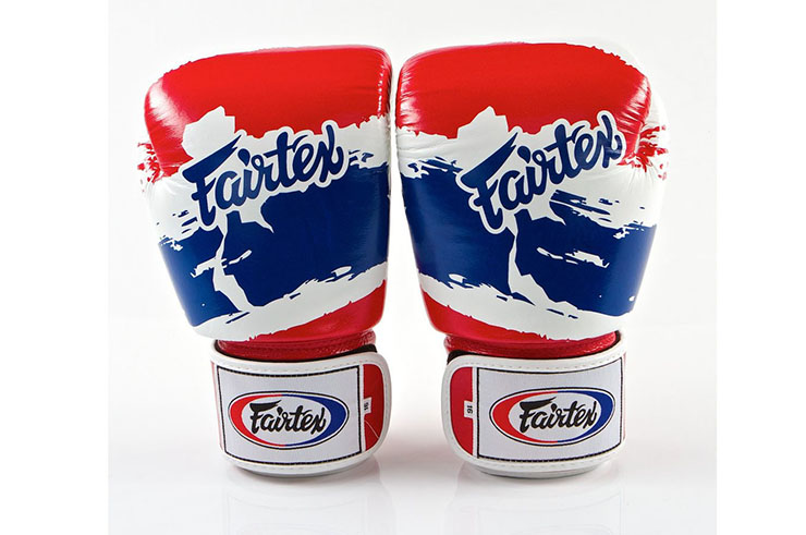 Thai Boxing Gloves, Training, Leather - V1 Thai Pride, Fairtex