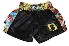 "Muay Thai Boxing Shorts ""TBT Comics"", Booster"