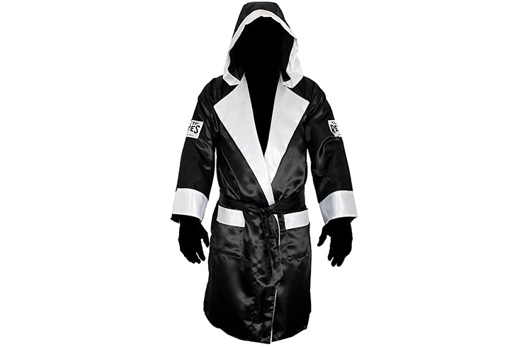 Satin Hooded Boxing Gown, Reyes