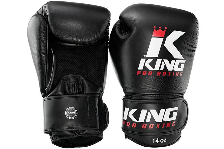 Gants de Boxe en Cuir BG Air, King