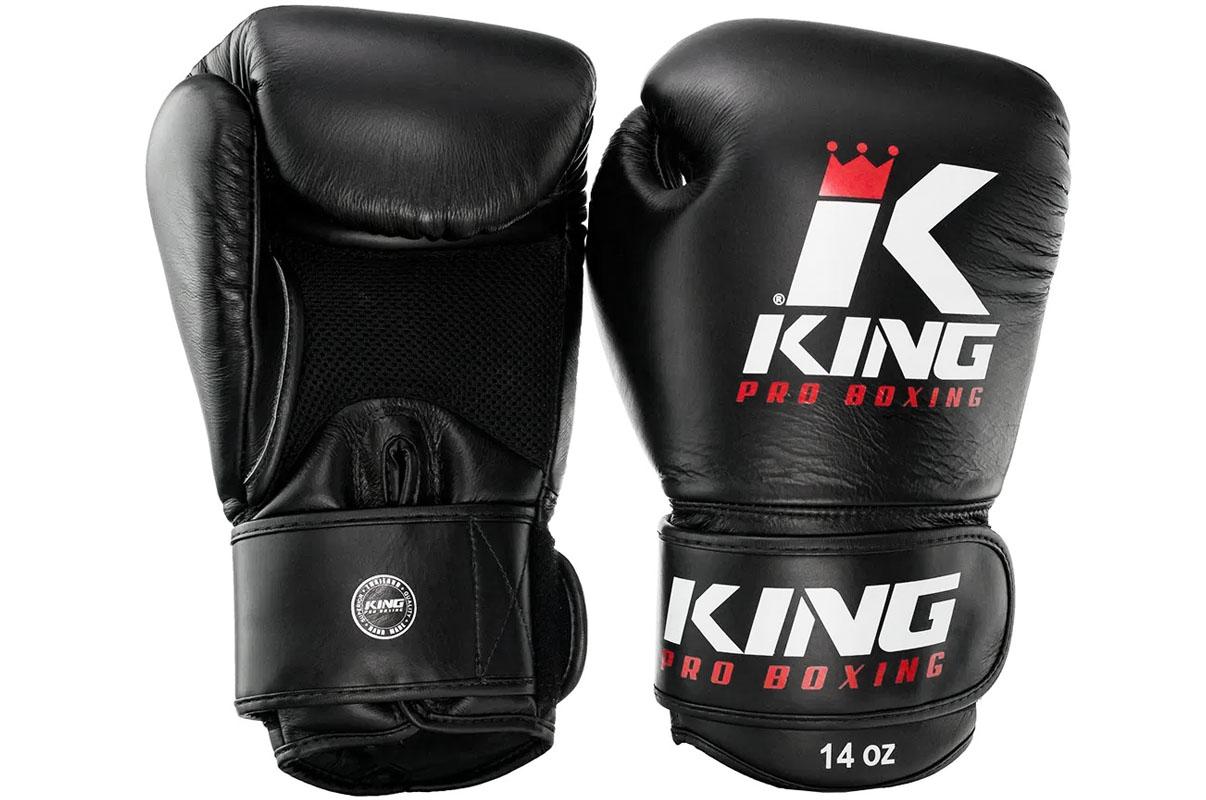 """Gants de Boxe en Cuir """"BG Air"""", King"""