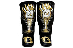 Espinilleras y Protector Pies - SG Youth Gold, Booster