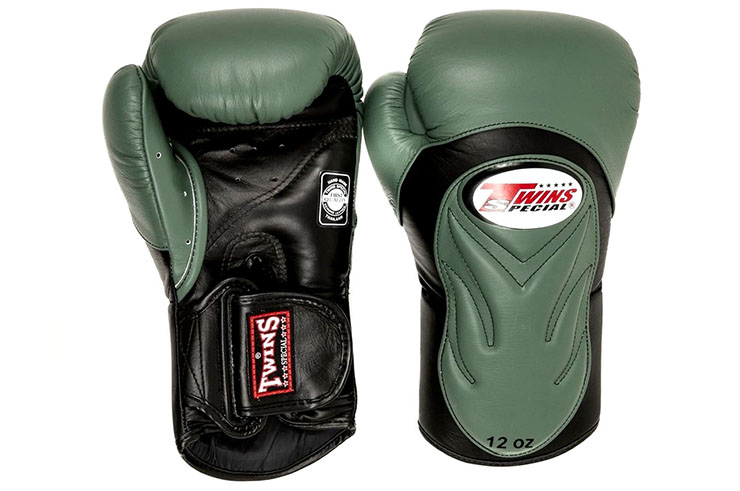 Leather Boxing Gloves BGVL 6, Twins