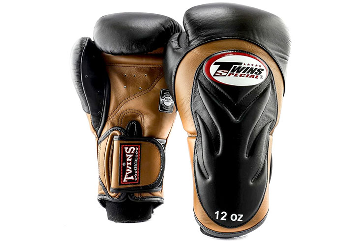 Leather Boxing Gloves - BGVL 6, Twins