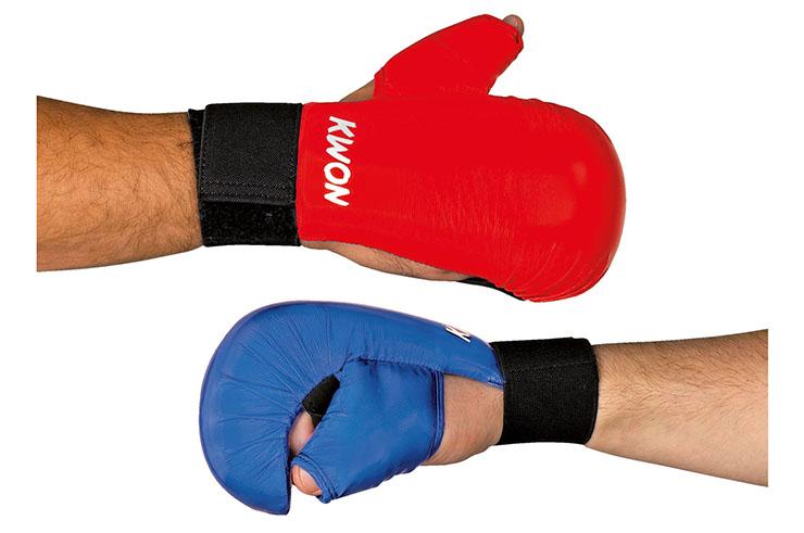 Protector de manos de Karate WKF - con pulgar, Kwon